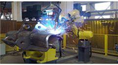 焊接机器人案例